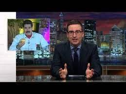 | Oliver demonizing Maduro and supporting US regime change operations in Venezuela Source nopinterestcom | MR Online