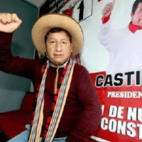 President of the Council of Ministers Guido Bellido, Peru, 2021.