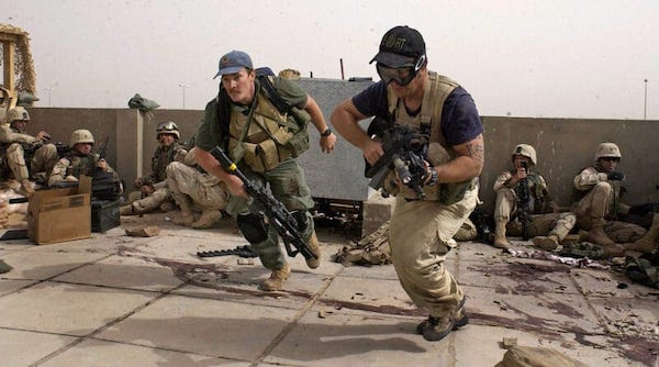 | Mercenaries working together with the US Army somewhere in the Middle East Photo courtesy of AP | MR Online