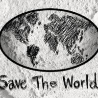 Love Globe Earth Idea On Cement Wall Free Stock