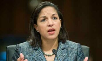 | US Ambassador to the UN Susan Rice lying before the UN Security Council about alleged mass rapes carried out by Libyan leader Muammar Qaddafi as part of a propaganda campaign designed to mobilize public support for a cataclysmic regimechange operation Rice performed the same role that Powell did with the WMDs and Iraq Source theguardiancom | MR Online