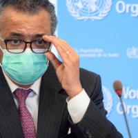World Health Organization (WHO) director general Tedros Adhanom Ghebreyesus.