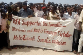 | Somalis protest US support for the Ethiopian invasion of their country | MR Online