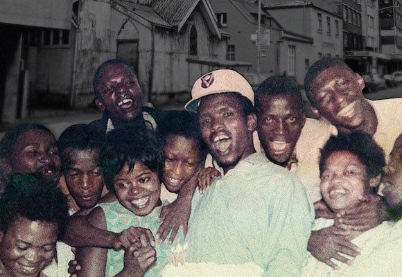   Steve Biko fourth from the right wearing a cap at a birthday party at the University of Natal Medical School NonEuropean Section in Durban 5 April 1969   MR Online