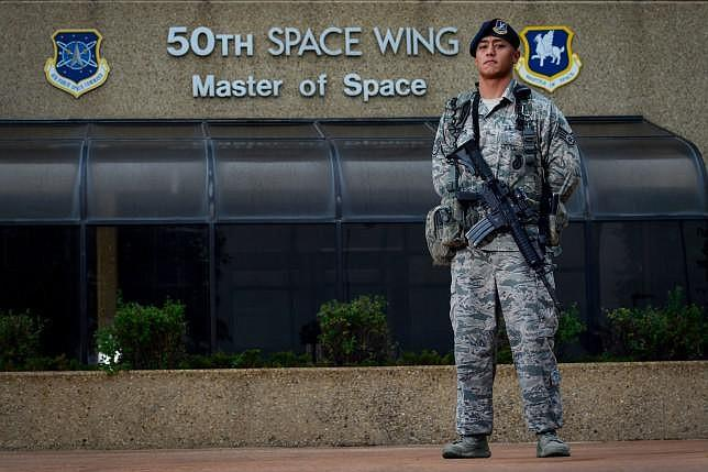   Staff Sgt Eric Proctor of the 50th Security Forces Squadron responsible for   MR Online
