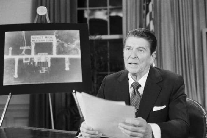   23 March 1983 President Ronald Reagan Proposes The Strategic Defense Initiative SDI Better Known As Star Wars   MR Online