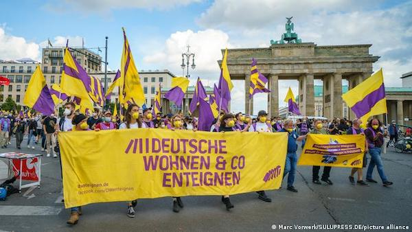 MR Online | The referendum vote came after Germanys constitutional court overturned an attempt by leftleaning parties to impose a rent cap in the German capital | MR Online