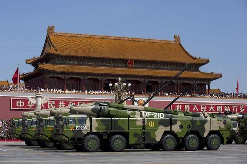   China Holds Military Parade To Commemorate End Of World War II In Asia   MR Online