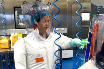 | Researcher Dr Shi Zhengli is pictured carrying out research at a lab in the Wuhan Institute of Virolog Feb 23 2017 | MR Online