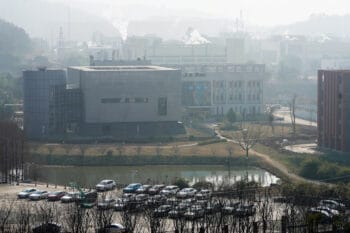 | A view of the Wuhan Institute of Virologys P4 lab after a visit by a WHO team on Feb 3 2021 | MR Online