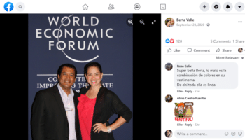 | USfunded Nicaraguan coup leader Felix Maradiaga and his wife Berta Valle at the World Economic Forum | MR Online