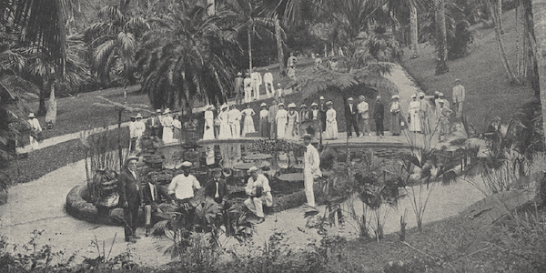 | A United Fruit Company promotional for a plantation in Jamaica Credit Boston Webster | MR Online