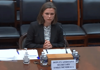 | The deputy assistant secretary of the State Departments Bureau of Western Hemisphere Affairs Emily Mendrala | MR Online