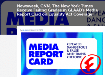   GLAAD 3321 reported that Newsweek ran three articles two opinion one news that focused entirely on transphobic antiLGBTQ views of the Equality Act   MR Online