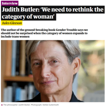   The Guardian 9721 said that a section of an interview with philosopher Judith Butler was cut out of fear of misleading readers   MR Online