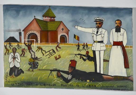 | Tshibumba KandaMatulu DRC The Martyrs of the Union Minière du Haut Katanga at the Stadium Formerly Called Albert I now Mobutu Kenia Township Lubumbashi 1975 | MR Online