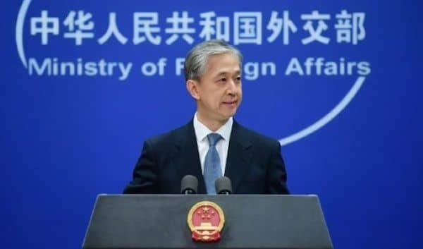 | Chinese Foreign Affairs Ministry spokesperson Wang Wenbin | MR Online