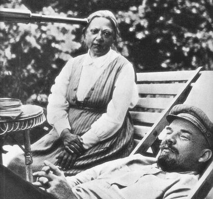 | Krupskaya and Lenin | MR Online