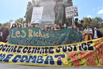   The general theme of the Montréal demonstrationJustice sociale Climate justice même combat   MR Online