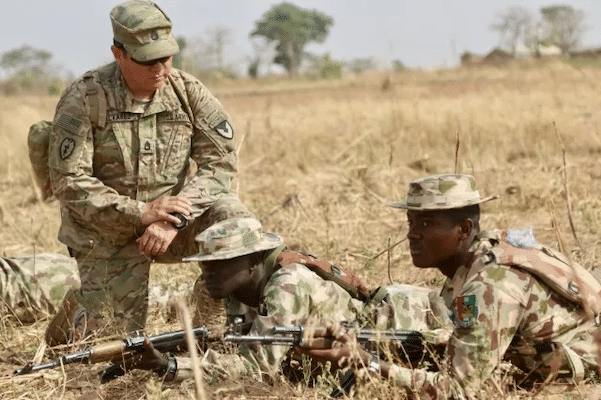 | US Army trainers drill Nigerian soldiers in Jaji between Jan 15 and Feb 22 2018 | MR Online