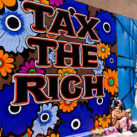 Since the Eisenhower administration, taxes on the rich have fallen from above 90% on the top bracket to the 30% range today, which does not include a multitude of tax avoidance schemes for the rich
