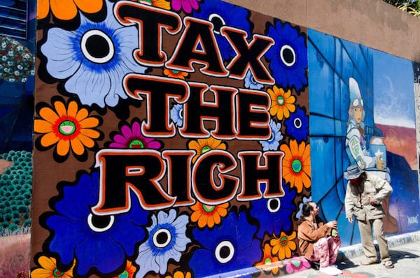 MR Online | Since the Eisenhower administration taxes on the rich have fallen from above 90 on the top bracket to the 30 range today which does not include a multitude of tax avoidance schemes for the rich | MR Online