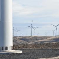 Wind turbines in Oregon.