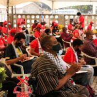 Congress of the Ghana Socialist Forum, which approved the transformation of the Forum into the Ghana Socialist Movement. Photo: Facebook of the SMG