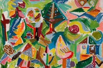 | Asger Jorn Denmark Landscape in Finkidong 1945 | MR Online
