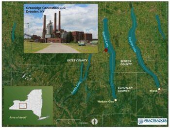   Location of Greenidge Generation Facility Dresden NY   MR Online