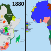 | Comparison of Africa in the years 1880 and 1913 during the Scramble for Africa Photo Wikicommons | MR Online