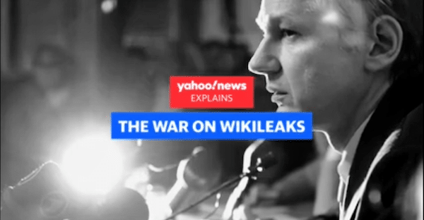 | Yahoo News 92621 reported that discussions over kidnapping or killing Assange occurred at the highest levels of the Trump administration | MR Online