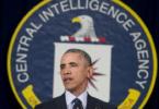 Obama speaks at CIA headquarters in Langley, Virginia.