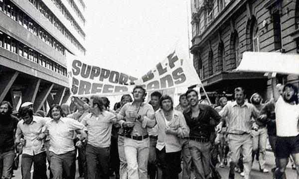 MR Online | Supporters of the BLF green bans march in Sydney in the early 1970s | MR Online