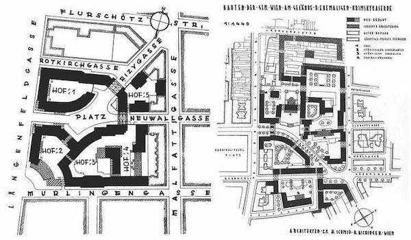 | Heinrich Schmidt and Hermann Aichinger Rabenhof and am Fuchsfeld Vienna 1927 Unknown Public Domain | MR Online