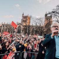 Jeremy Corbyn Bristol rally