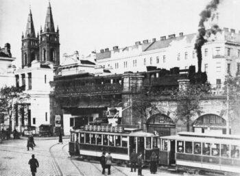 | The Vienna Stadbahn before electrification around 1910 | MR Online
